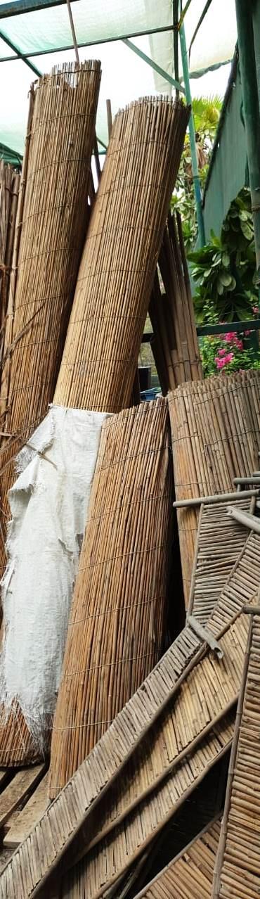 bamboo mat fencing